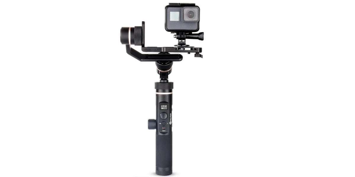 Стабилизатор трехосевой Feiyu FY-G6 Max с экшн-камерой