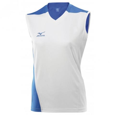 Волейбольная футболка Mizuno Trade SleeveLess женская белая