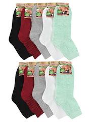 Ж013 носки женские, цветные (10шт)