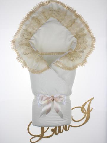 Конверт Одеяло Мария (кремовый/капучино)