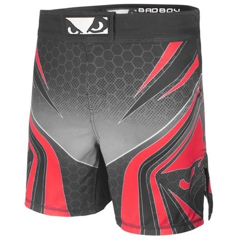 Шорты для MMA Bad Boy Legacy Evolve Shorts Black/Red