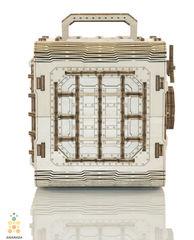 Сейф от Wooden City - деревянный конструкторы, 3D пазл, сборная модель