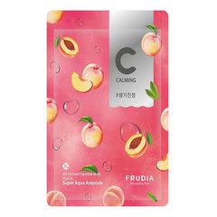 Frudia My Orchard Squeeze Mask Peach - Маска тканевая питательная с персиком