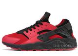Кроссовки Женские Nike Air Huarache Black Red