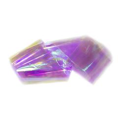 Фольга битое стекло фиолетово-розовая 5*100см