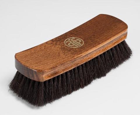 Щетка для гладкой кожи, натуральный  ворс, 12430/12431 Salrus 17см.