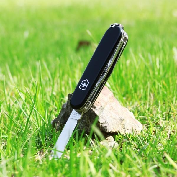 Складной многофункциональный нож Victorinox Climber (1.3703.3) 91 мм., цвет чёрный