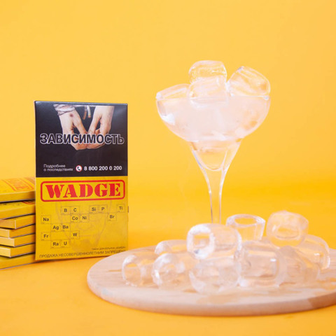 Табак Wadge Titanium Super Frozen 100 г