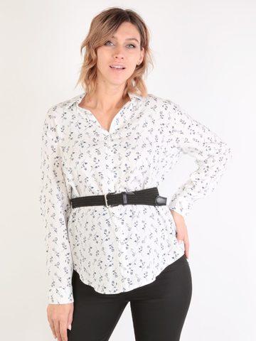 Евромама. Блуза-рубашка для беременных и кормящих, молоко