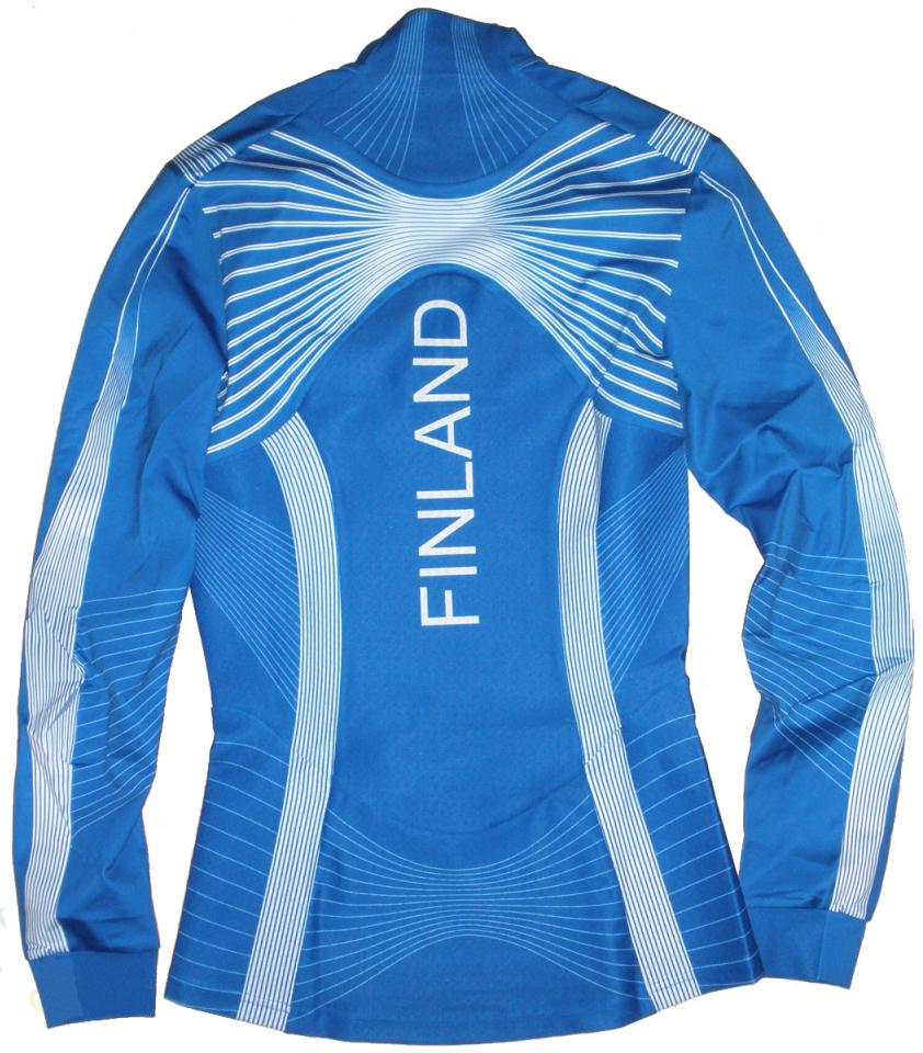 Раздельный лыжный комбинезон Craft Fin Spo Race Jersey (1901025-26-2336) синий фото
