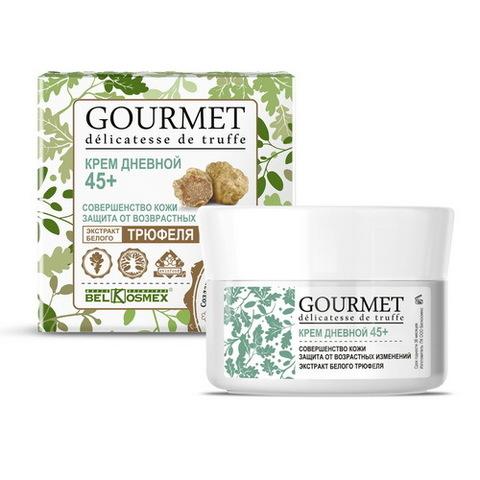 BelKosmex Gourmet  Крем дневной 45+ совершенство кожи экстракт белого трюфеля 48г