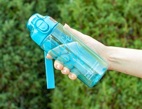 Бутылка POWCAN - 500 мл. Life Style - Синий