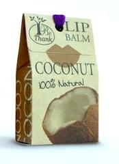 Натуральный бальзам для губ с кокосовым маслом BE THANK