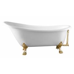 Ванна отдельностоящая 171х75 см Swedbe 8819GO фото