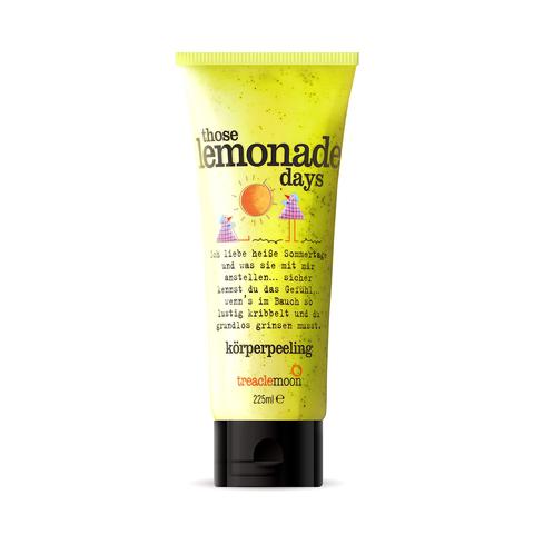 TREACLEMOON | Скраб для тела Домашний лимонад / Those lemonade days Body scrub, (225 мл)