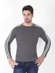 004-1 футболка муж. с длинным рук. графит