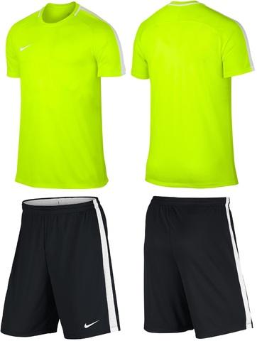 Форма футбольная Nike Dry Academy Football лимонный желтый 832967 (702) 832508 (010)