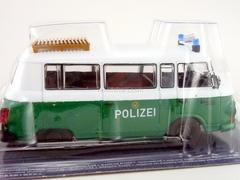 Barkas West Germany Police 1:43 DeAgostini World's Police Car #63