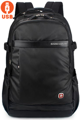 Рюкзак CROSS GEAR SA-9898 USB Черный