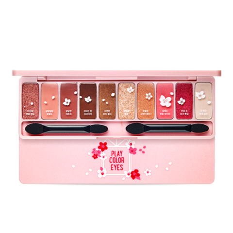 Палетка теней Etude House Play Color Eyes Cherry Blossom