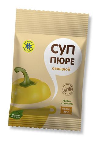 Суп-пюре Овощной 30гр..(Компас Здоровья)