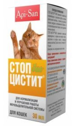 Api-San Stop Cystitis BIO (suspension) for cats (30 ml)