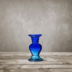 Подсвечник 20 см San Miguel синий