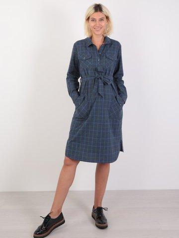 Евромама. Платье-рубашка для беременных и кормящих, капучино