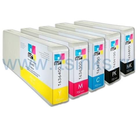 Комплект из 5 картриджей для Epson 7700/9700 5x700 мл