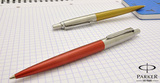 Шариковая ручка Parker Jotter 125th K173 Yellow Mblue (1870832)