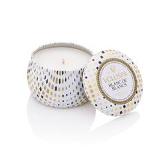 Ароматическая свеча Voluspa Белее белого в декоративной банке