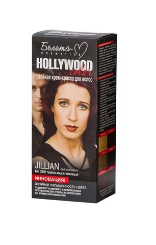 Белита-М Hollywood Color Крем-краска 398 Джиллиан (темно-махагоновый.)