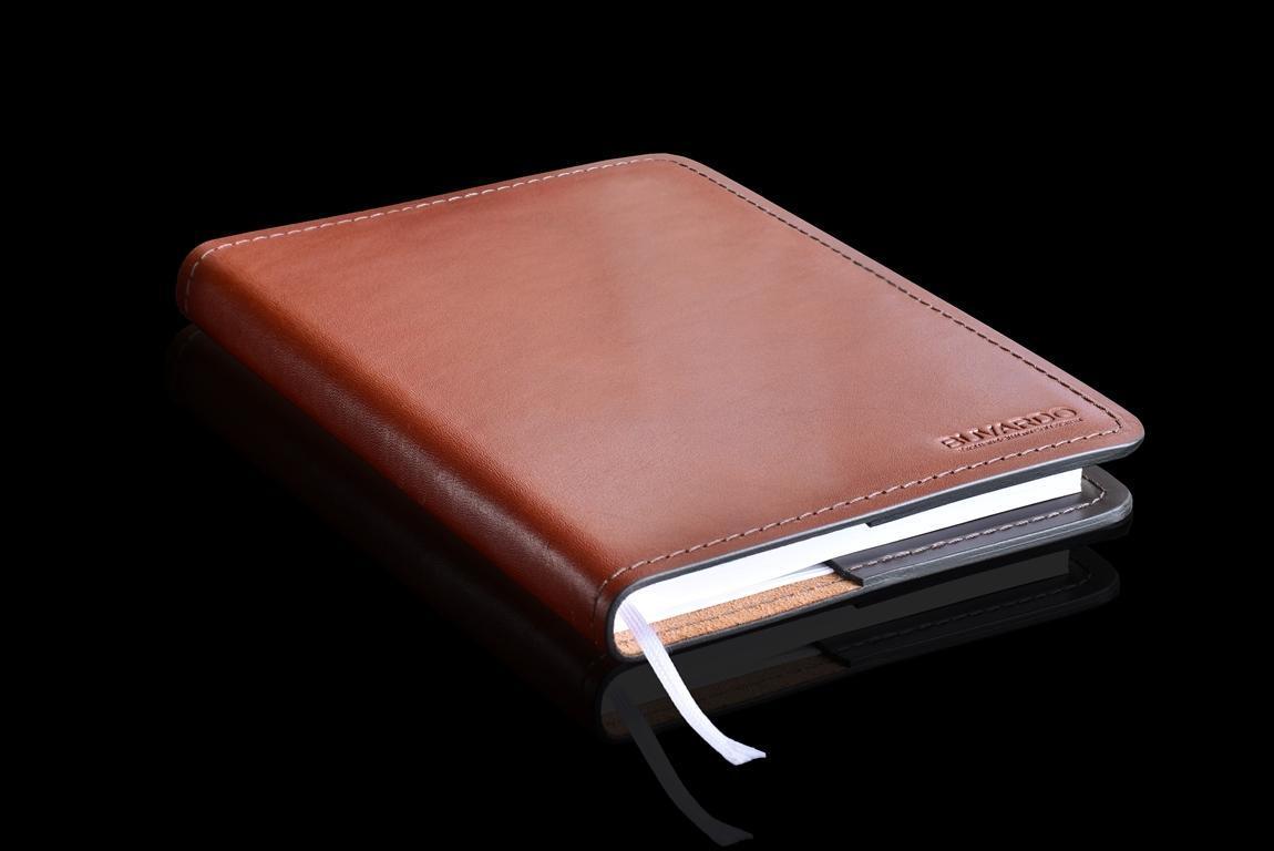 ежедневник  А5  из кожи тоскана фото