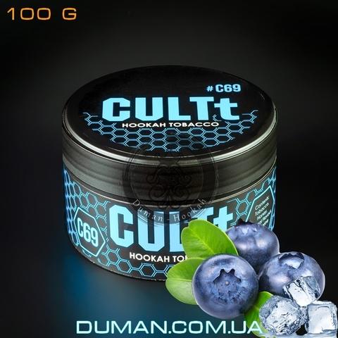 Табак CULTt C69 Blueberry Ice (Культ Лед Черника)