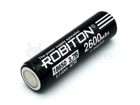 Аккумулятор Li-ion 18650 2600 mAh