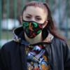 Многоразовая защитная неопреновая маска Hardcore Training Angry Vitamins 2.0