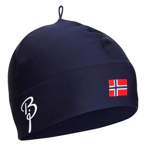 Лыжная шапка Bjorn Daehlie Polyknit Flag Hat темно-синяя
