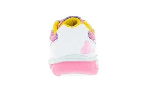 Кроссовки Мой Маленький Пони (My Little Pony) на липучках для девочек, цвет белый. Изображение 4 из 5.