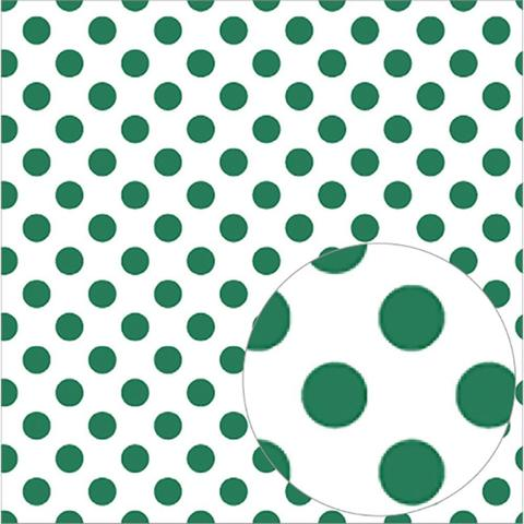 Ацетатный лист  30 х30 см - Bazzill Printed Acetate Dots Sheets  - Green