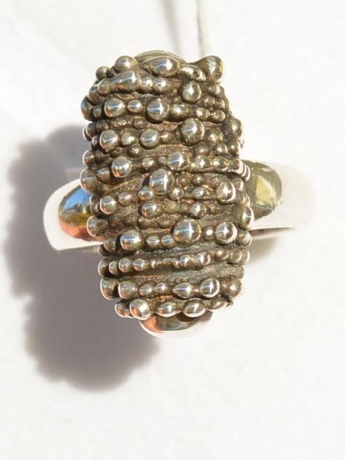 Цилиндр (кольцо из серебра)