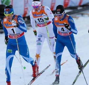 Профессиональный раздельный лыжный комбинезон Craft Fin Spo Race Jersey (1901025-26-2336) синий