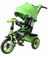 Велосипед Moby Kids Leader 360° 12x10 AIR Car Зелёный (641070)