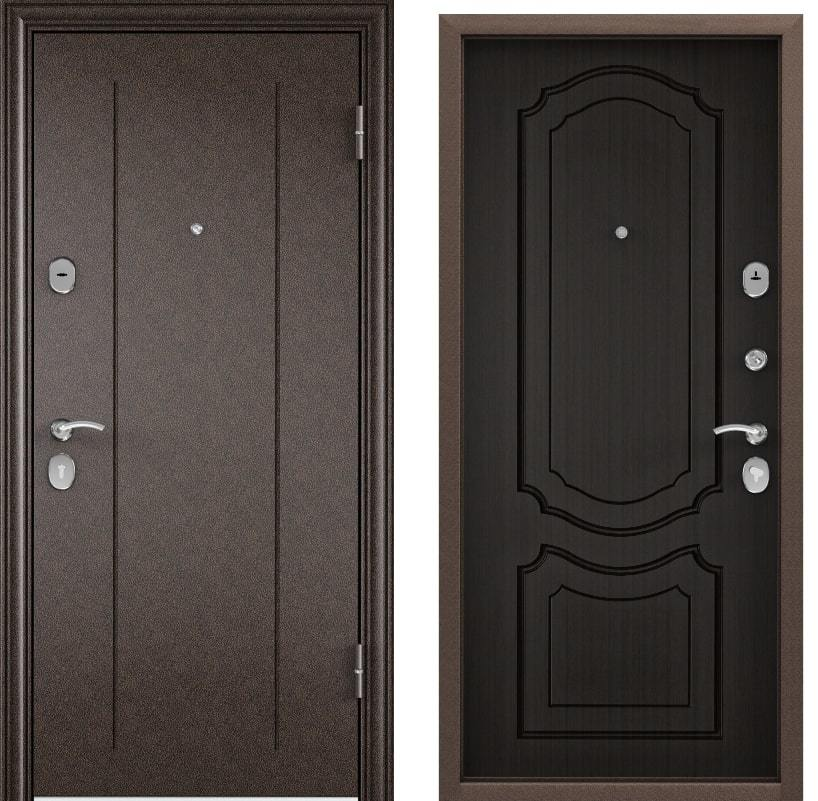 Входные двери Torex Delta M 10 RGSO медь D1 венге generated_image.jpg