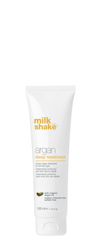 Маска argan oil deep treatment milk_shake