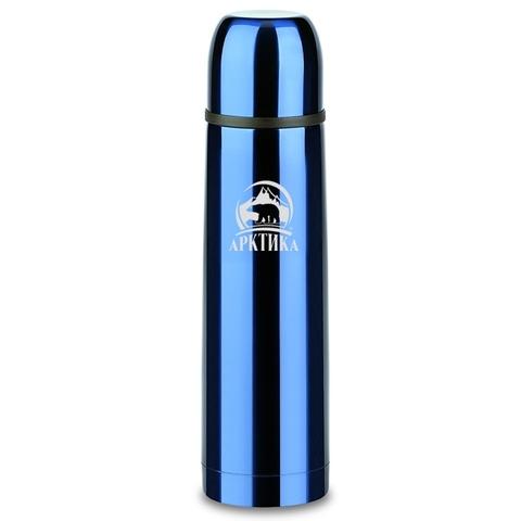 Термос «Арктика» бытовой вакуумный, синий 1 литр