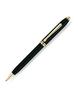 Шариковая ручка Cross Townsend Black GT Mblack (572) перьевая ручка cross townsend quartz blue перо f 18k 696 1fd