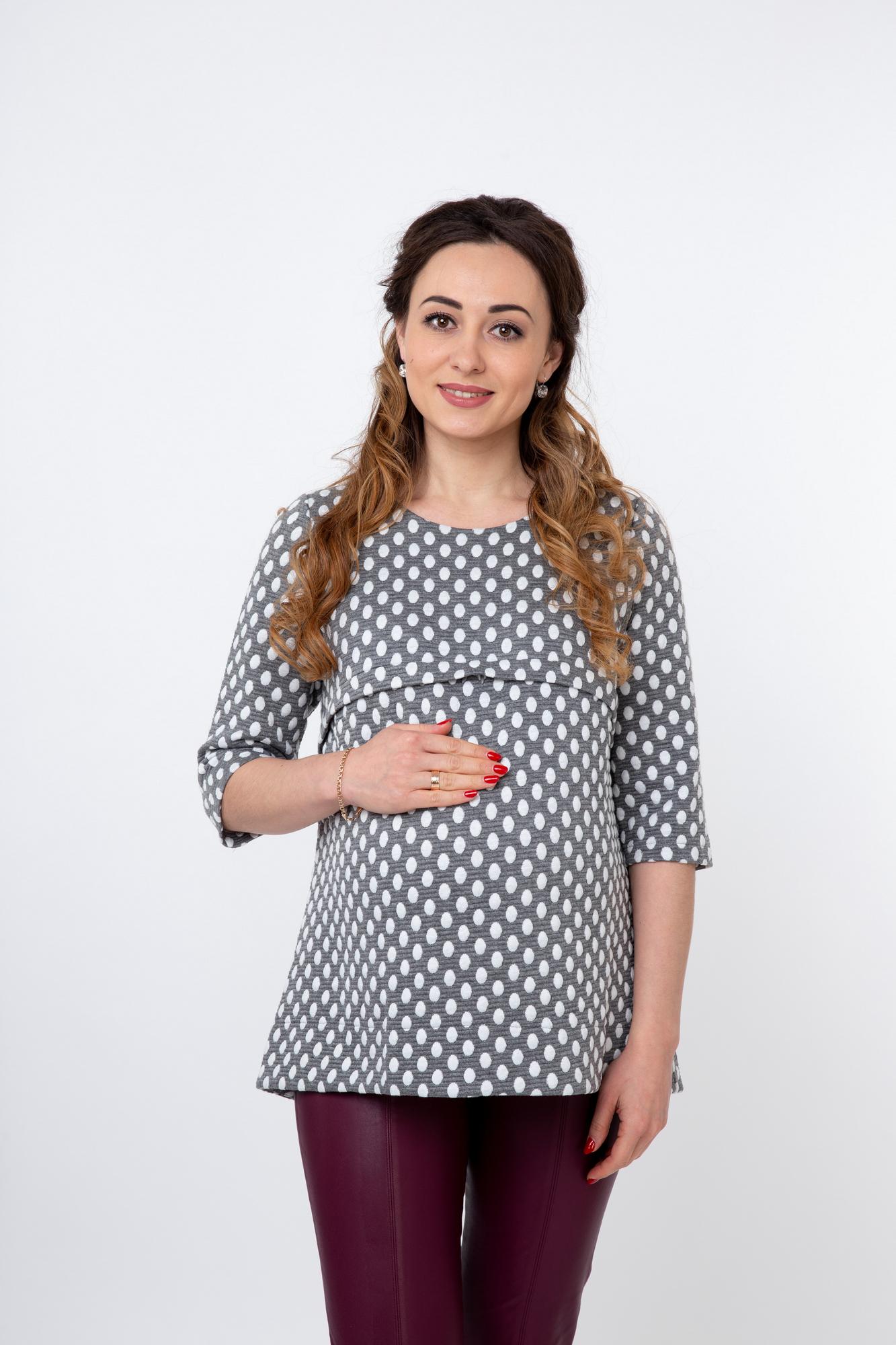 Блузка  08294 серый