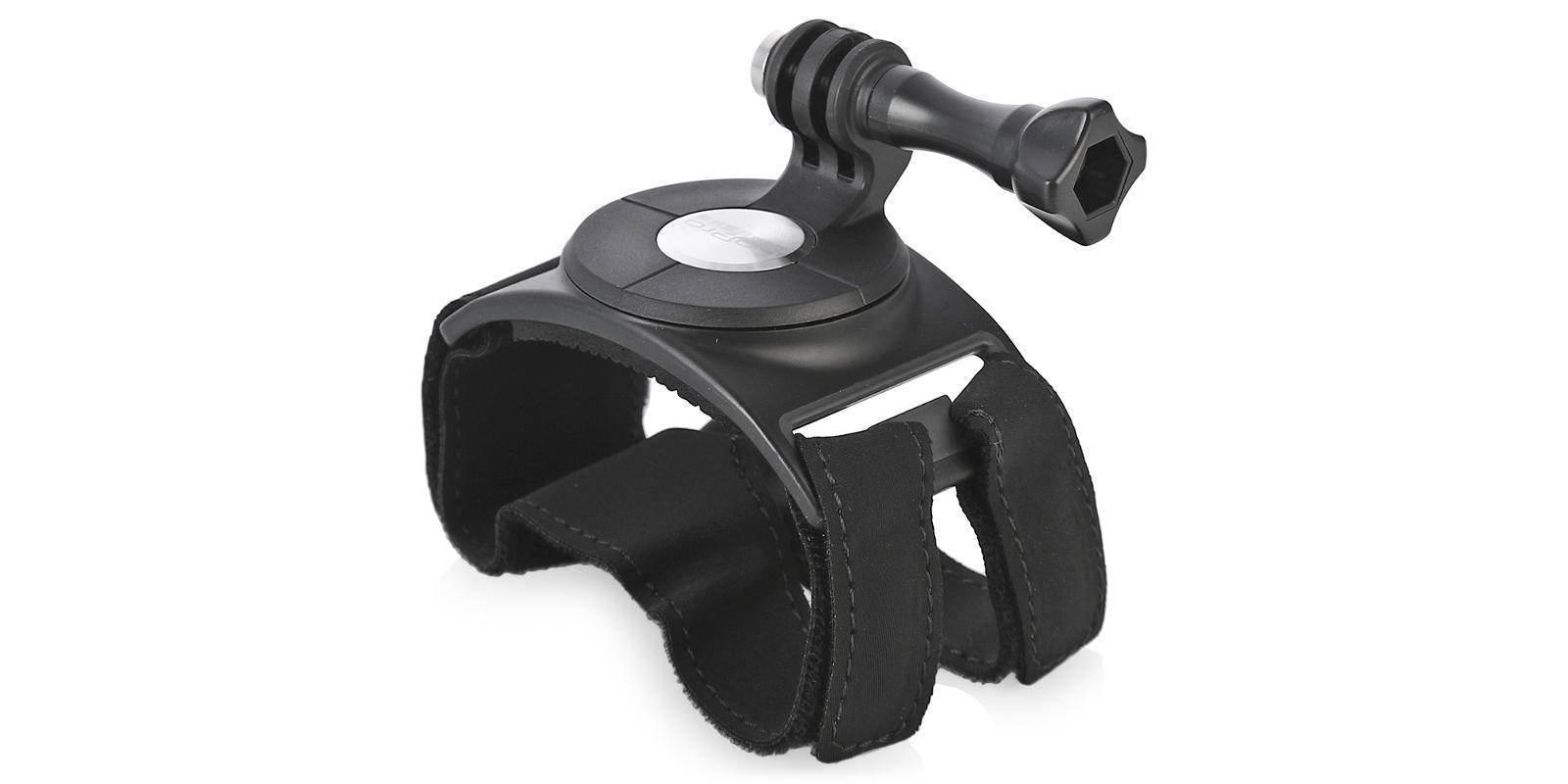 Крепление на руку GoPro Hand + Wrist Strap (AHWBM-002) сбоку без камеры