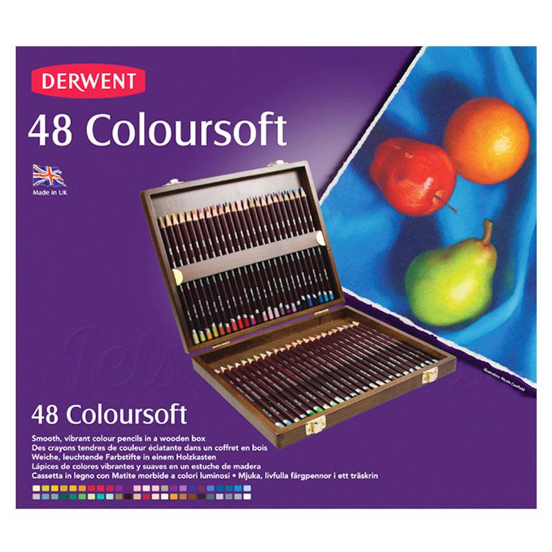 Набор из 48 цветных карандашей Derwent