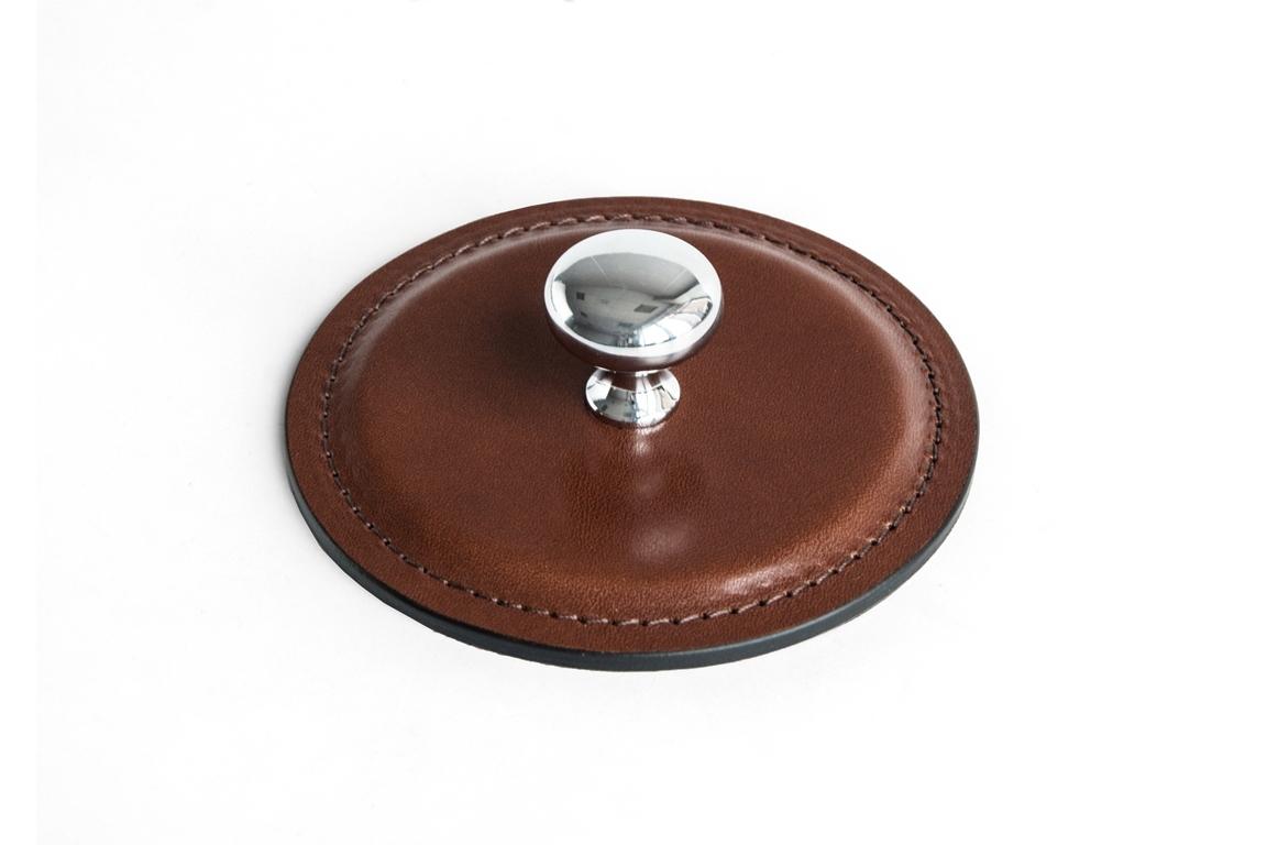 Пресс-папье BUVARDO PREMIUM из кожи Full Grain Toscana/Cuoietto шоколад